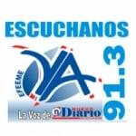 Logo da emissora Radio YA 91.3 FM