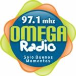 Logo da emissora Radio Omega 97.1 FM