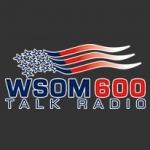 Logo da emissora WSOM 600 AM