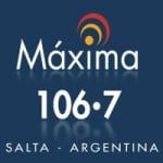 Logo da emissora Radio Cadena Máxima 106.7 FM