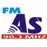 Logo da emissora Radio AS 90.3 FM