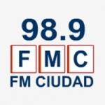Logo da emissora Radio Ciudad 98.9 FM