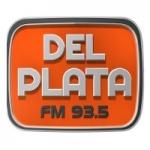 Logo da emissora Radio Del Plata 93.5 FM