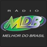 Logo da emissora Rádio MDB Flash Back e Futebol