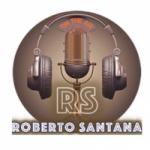 Logo da emissora Roberto Santana