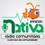 Logo da emissora Rádio Nativa 104.9 FM