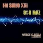 Logo da emissora Radio Siglo XXI 91.9 FM