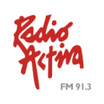 Logo da emissora Radio Activa 91.3 FM