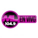 Logo da emissora Metro Latina 104.9 FM