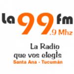 Logo da emissora Radio La 99.9 FM
