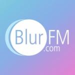 Logo da emissora Radio Blur FM