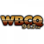 Logo da emissora Radio WBCQ 94.7 Kixx FM