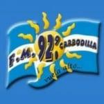 Logo da emissora Radio Carrodilla 92.9 FM