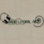 Logo da emissora Rádio Litoral Net