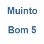 Logo da emissora Rádio Muinto Bom 5