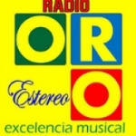 Logo da emissora Radio Oro Estereo