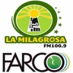 Logo da emissora Radio La Milagrosa 100.9 FM