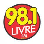 Logo da emissora Rádio Livre 98.1 FM