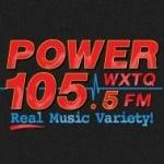 Logo da emissora WXTQ 105.5 FM