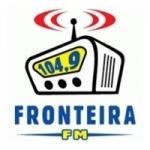 Logo da emissora Rádio Fronteira 104.9 FM