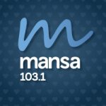Logo da emissora Radio Mansa 103.1 FM