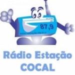 Logo da emissora Rádio Estação Cocal 87.9 FM