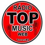 Logo da emissora Rádio Top Music