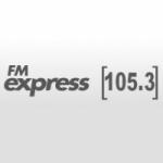 Logo da emissora Radio Express 105.3 FM