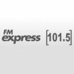 Logo da emissora Radio Express 101.5 FM