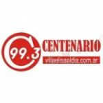 Logo da emissora Radio Centenario 99.3 FM