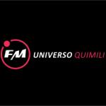 Logo da emissora Radio  Universo 96.1 FM