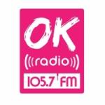 Logo da emissora Radio Ok 105.7 FM