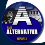 Logo da emissora Rádio Alternativa Birigui