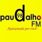 Logo da emissora Rádio Paudalho 98.5 FM