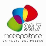 Logo da emissora Radio Metropolitana 99.7 FM