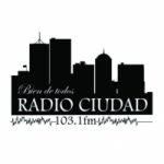 Logo da emissora Radio Ciudad 103.1 FM
