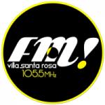 Logo da emissora Radio Villa Santa Rosa 105.5 FM