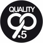Logo da emissora Radio Quality 90.5 FM