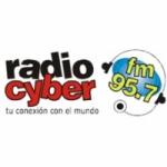Logo da emissora Radio Cyber 95.7 FM