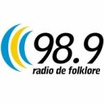 Logo da emissora Radio De Folklore 98.9 FM