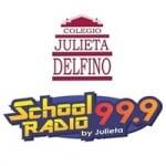 Logo da emissora Radio Julieta Delfino 99.9 FM