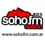 Logo da emissora Radio Soho 102.5 FM