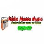 Logo da emissora Rádio Massa Music