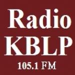 Logo da emissora Radio KBLP 105.1 FM
