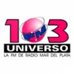Logo da emissora Radio Universo 103.3 FM