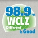 Logo da emissora Radio WCLZ 98.9 FM