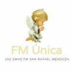 Logo da emissora Radio Única 102.1 FM