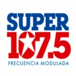 Logo da emissora Radio Super 107.5 FM