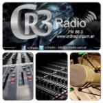 Logo da emissora Radio CR3 88.3 FM