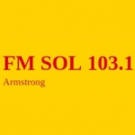 Logo da emissora Radio Sol 103.1 FM